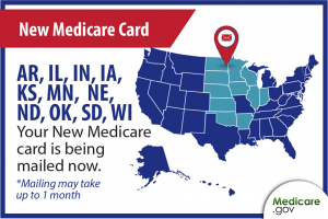 medicare card mailing soon